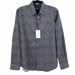 NEW $168 Robert Graham Mens Tailored Fit Shirt